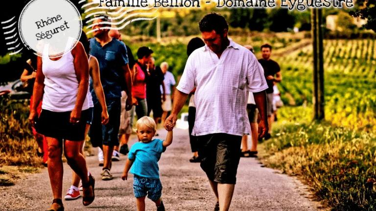Famille Bellion du Domaine Eyguestre à Séguret