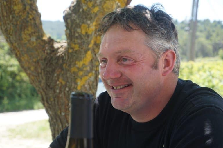 Laurent Bellion du Domaine Eyguestre à Séguret