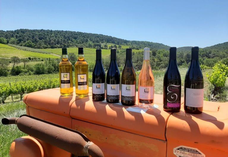 Vins et huiles duDomaine Eyguestre, Côtes-du-Rhône Village Séguret